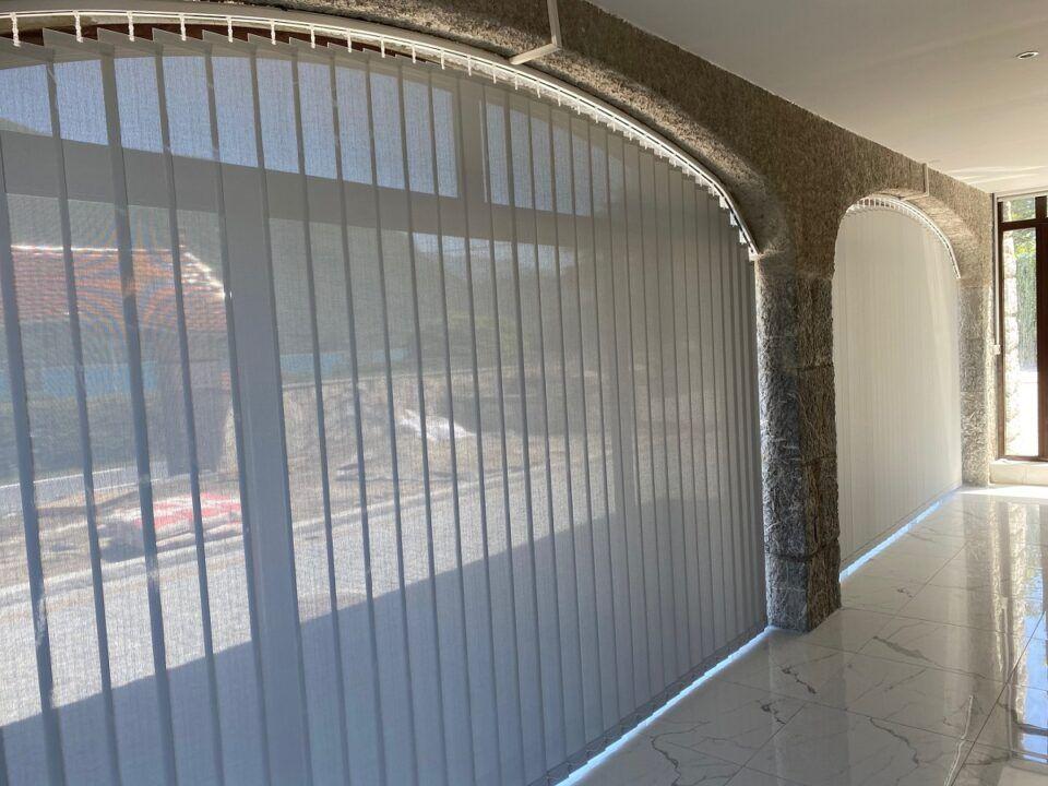 stores californiens anti chaleur baies vitrées