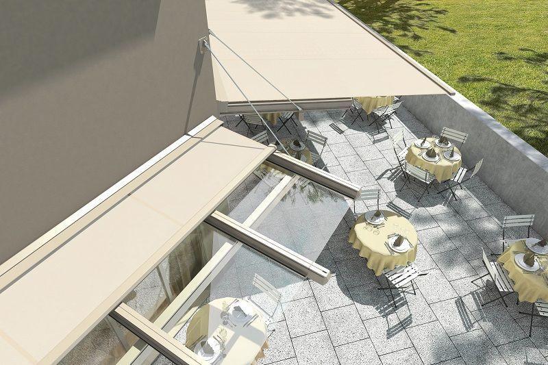 stores fonctionnels terrasse