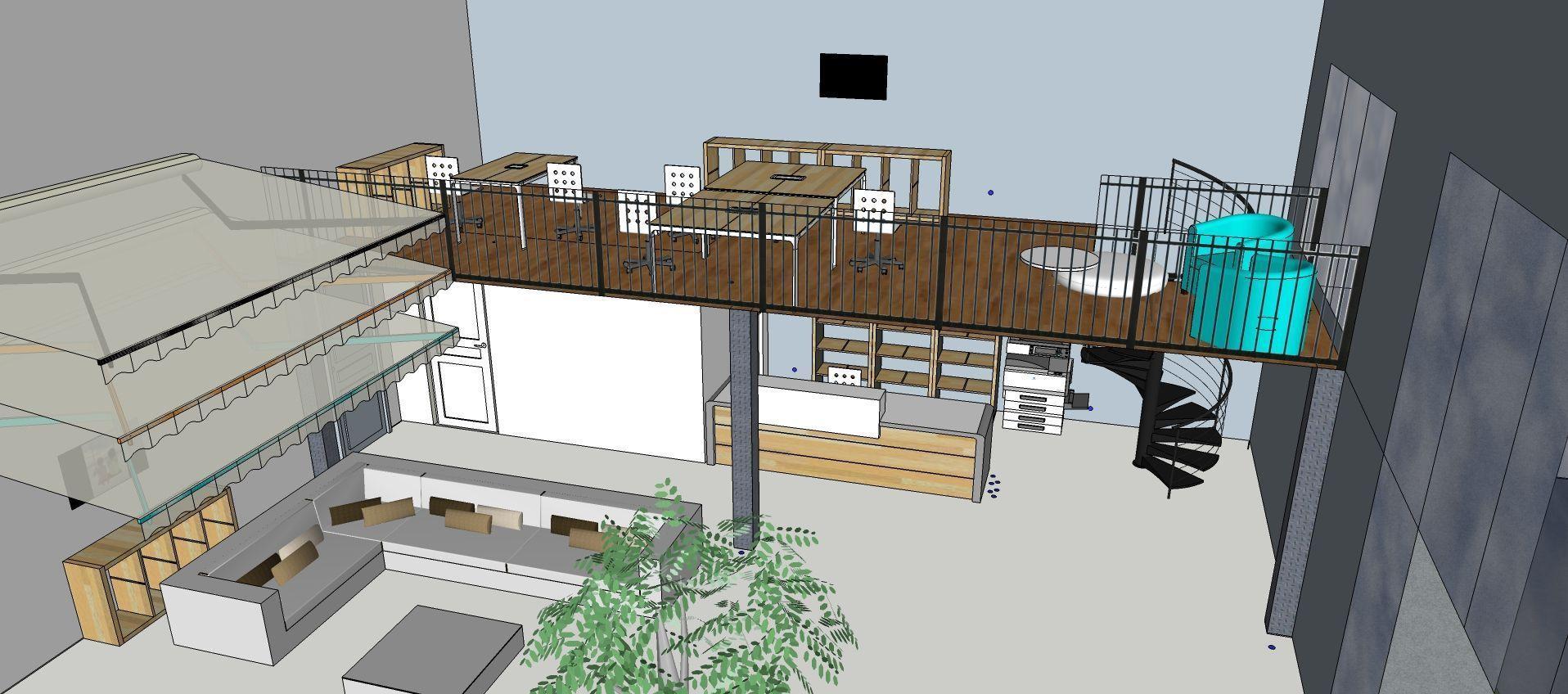 Modélisation 3D showroom Passion Store