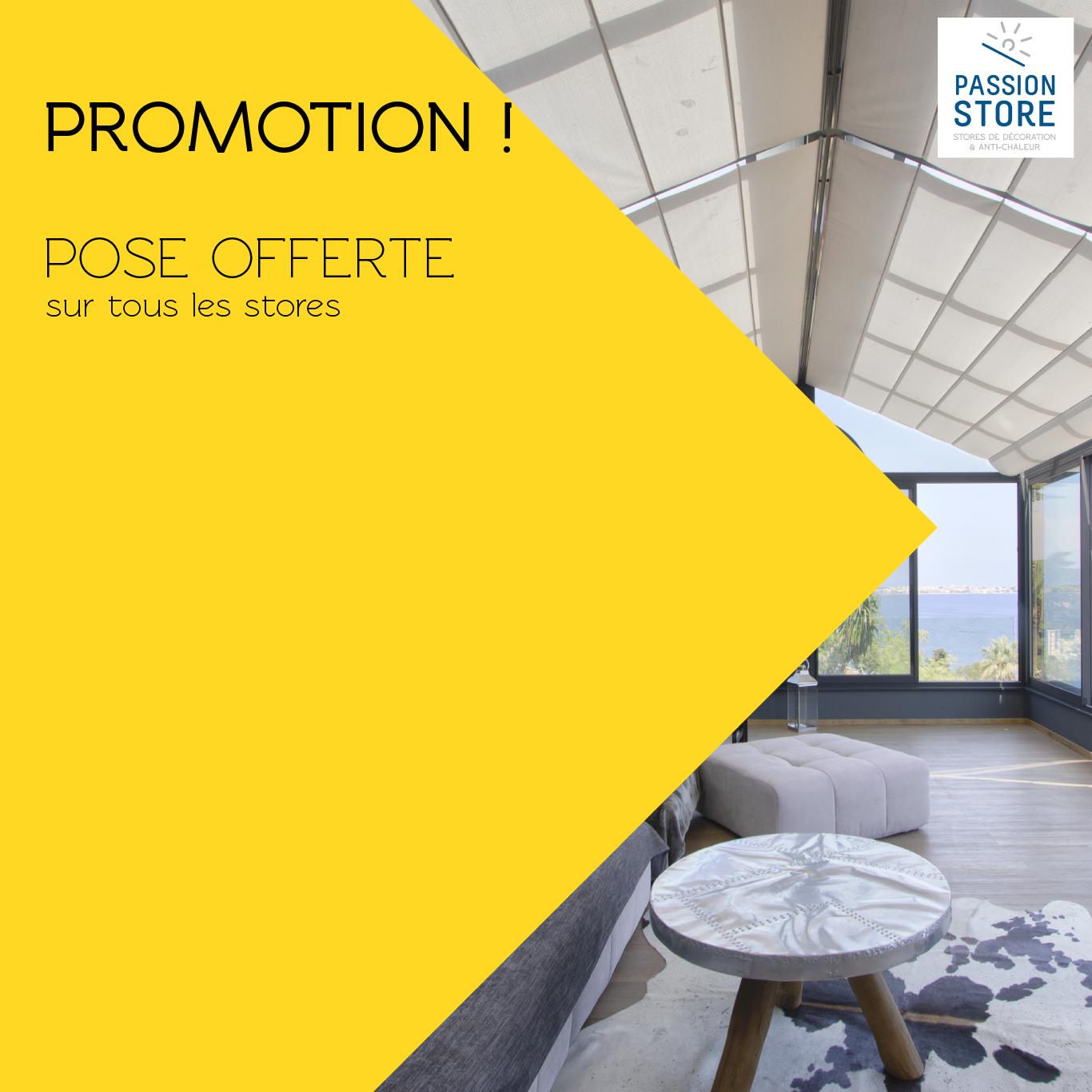 promotion pose offerte